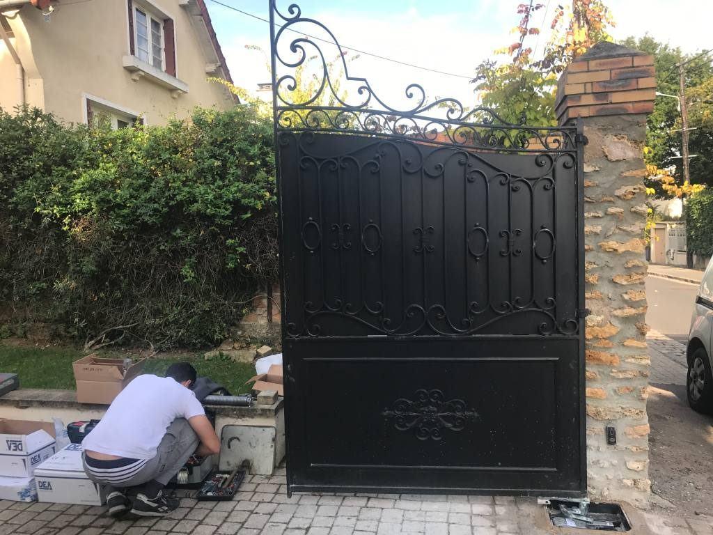 Création sur-mesure de portail et portillons Paris et Ile de ...
